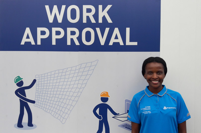 Modjadji Queen Sithole, Communications & Change Management Stream Lead for the Operating Model at Mogalakwena Mine. Modjadji is part of the Business DNA but contracted to Mogalakwena Mine for the duration of the Operating Model activation.